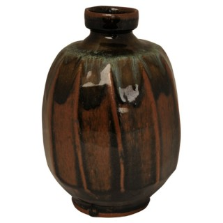 Tenmoku vase, Mike Dodd