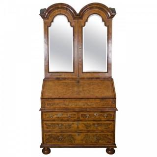 Queen Anne period Bureau bookcase