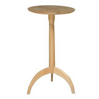 Fruitwood Shaker style tripod table, Neal Poston