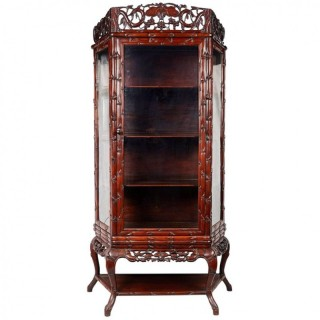 Chinese Hardwood Display Cabinet