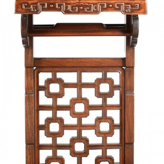 19th Century Chinese Hardwood Alter Table