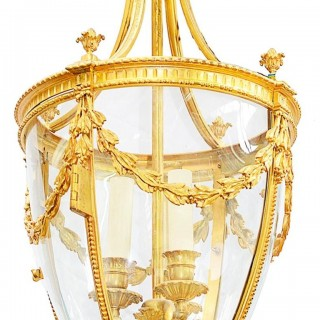 19th Century French Hall Lantern