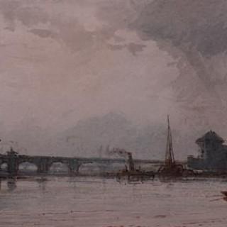 Paris, the Seine from Charenton.