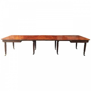 Gillows Influenced Regency Extending Dining Table