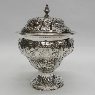 George III Silver Sugar Bowl