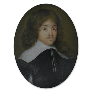Portrait miniature of a Gentleman, traditionally thought to be a Self-Portrait