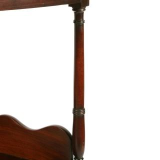 Georgian Mahogany Corner stand