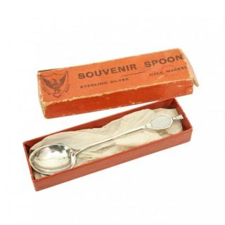 Silver Badminton Spoon