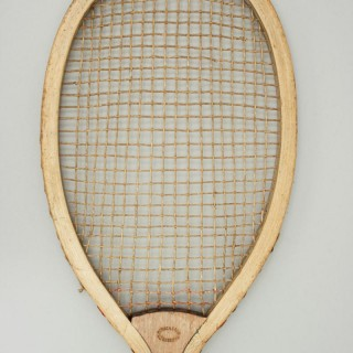 Antique Howie & Sons Tennis Racket