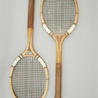 F.H. Ayres Lawn Tennis Rackets