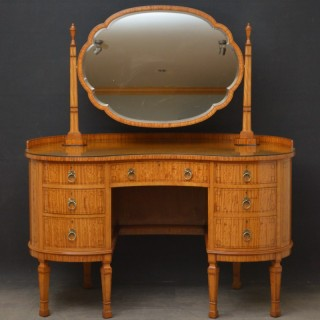Shapland & Petter Satinwood Dressing Table & Chair