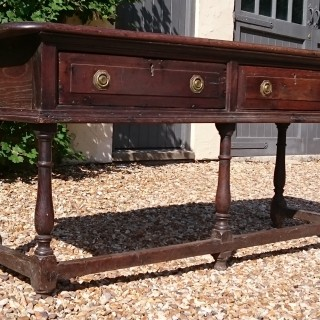 17th Century Antique Oak Dresser