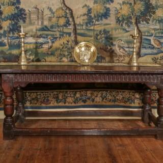 A James I Oak Table