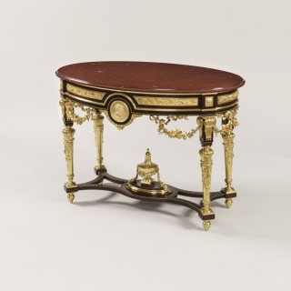 Ormolu and Marble French Centre Table