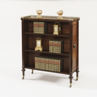 Regency Mahogany Library Bookcases