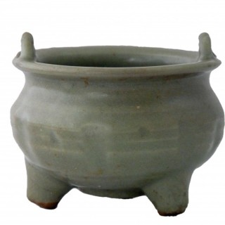 Song Celadon Tri-pod Censer