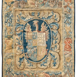 17th century Armorial tapestry