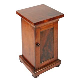 19th Century Mahogany Pedestal Cabinet