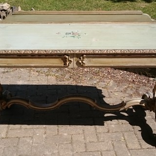 Antique Painted Serving Table / Dressing Table / Side Table
