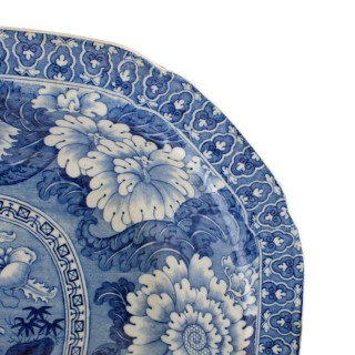 Early 19th Century Staffordshire Dish