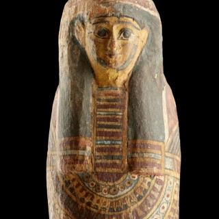 Ancient Egyptian Anthropomorphic Mummiform Figure of Ptah-Sokar-Osiris