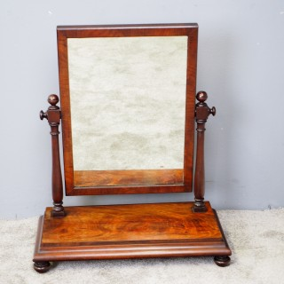 Mahogany Dressing Mirror by Mein of Kelso