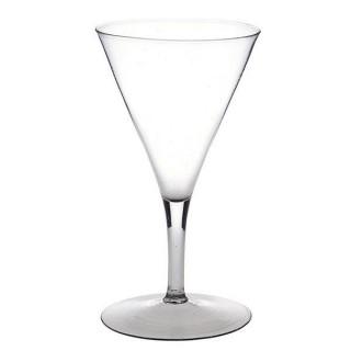 A Large Trumpet Drawn Wine Glass