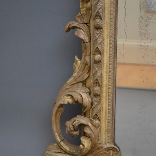 Finest Quality Early Victorian Overmantel Mirror