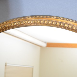 Tall and Slim Giltwood Mirror