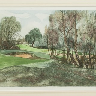 Wentworth Golf Course Print