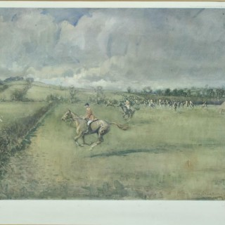 Lionel Edwards Fox Hunting Prints