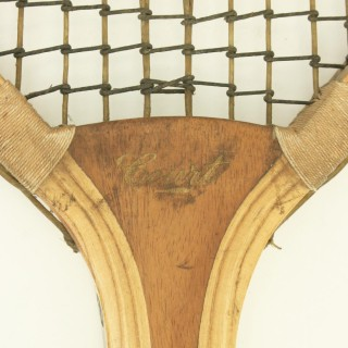 Lawn Tennis Racket, 'Court'