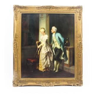 Antique Painting Jakob Emanuel Gaisser