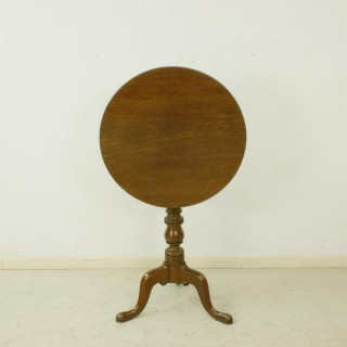 Tilt Top Tripod Table