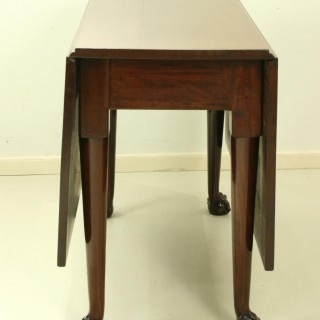 Ball and Claw dropleaf table