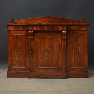 Early Victorian Mahogany Sideboard