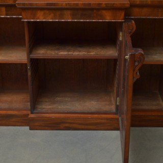 Early Victorian Mahogany Sideboard
