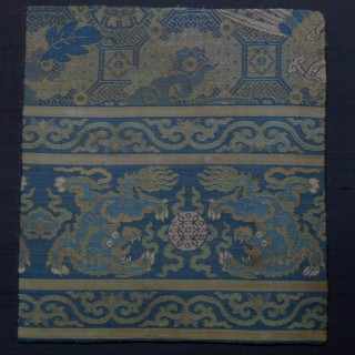 Chinese Transitional Brocade Panel