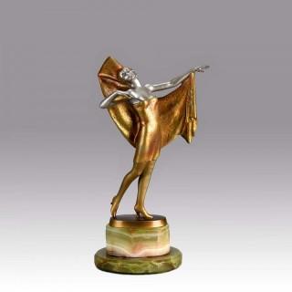 Art Deco bronze entitled