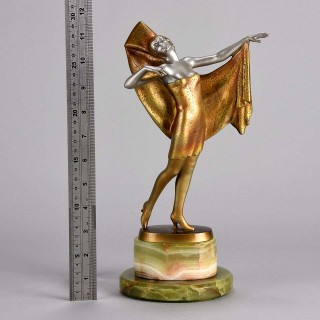 Art Deco bronze entitled