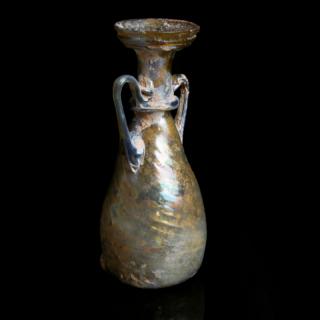 Exquisite Roman Glass Amphoriskos