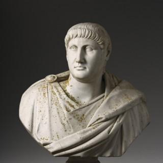 Massive and Magnificent Italian Marble Bust of the Roman Emperor Nero