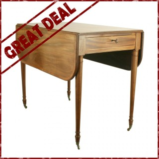 Mahogany Pembrook Table - Reduced from £950 to £650
