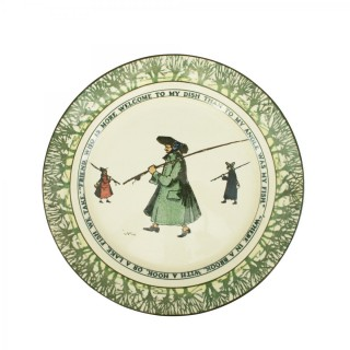 Royal Doulton Fishing Plate