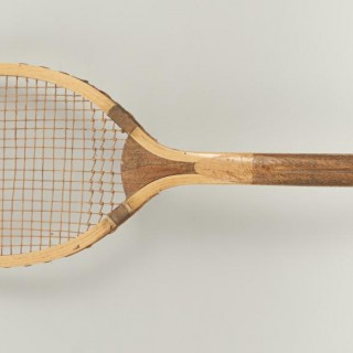 Fish Tail Lawn Tennis Racket