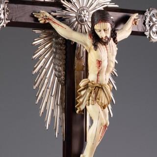 Portuguese Goa Devotional Crucifix