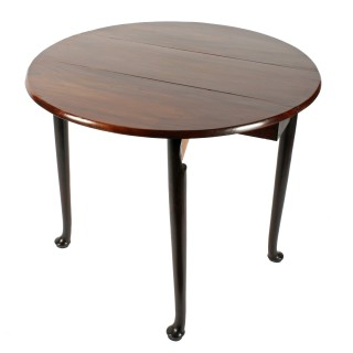 Georgian Pad Foot Drop Leaf Table