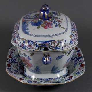 MASON'S IRONSTONE CHINA SOUP TUREEN