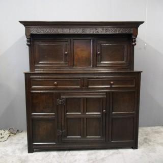 18th Century Northern English Oak Cupboard