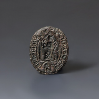 John of Messingham Oval Bronze Seal